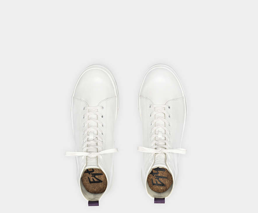 Kibo Leather White