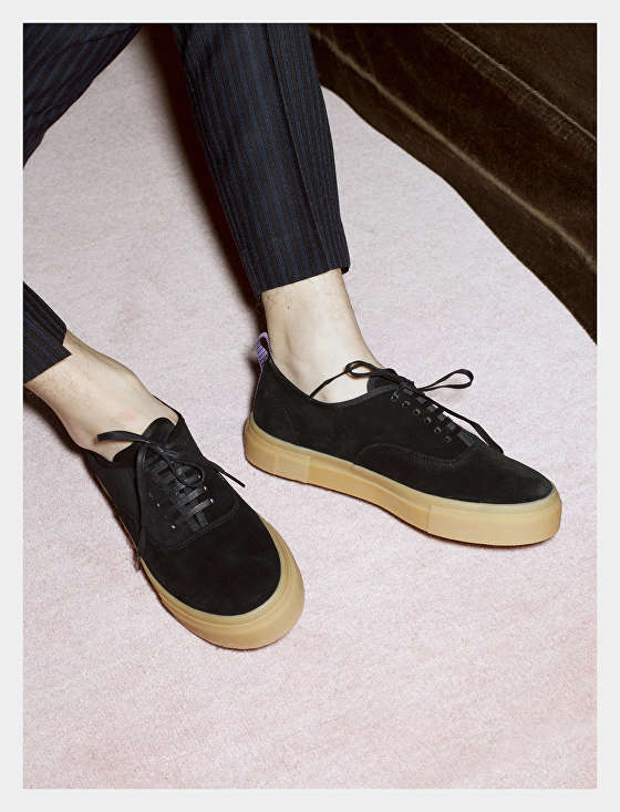 Mother Suede Black Gum